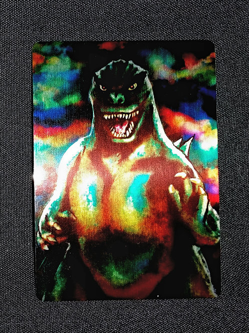 """""""The Roar"""" METAL collectible card #42"""