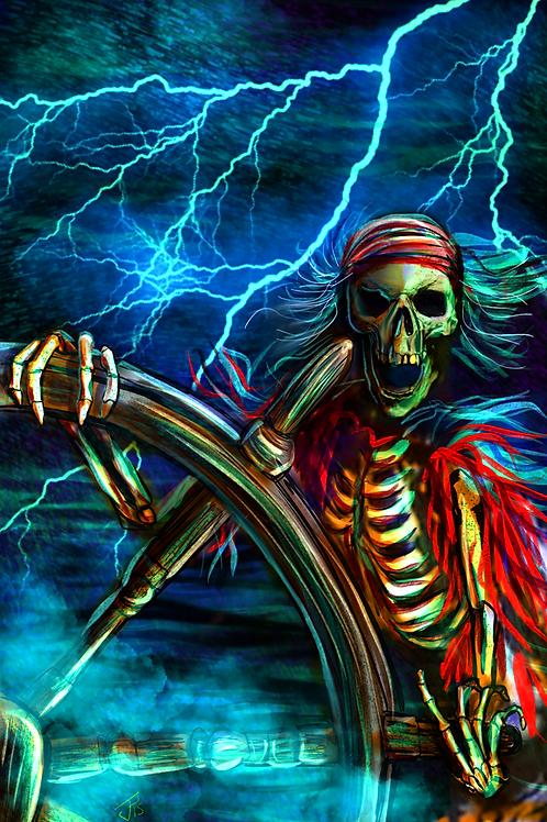 """""""Dead Men Tell No Tales"""" Art Print"""
