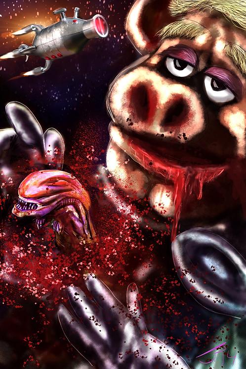 """In Space..."" Art Print"