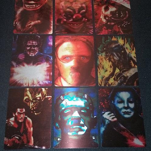 """Horrible Horrors"" METAL Card Set"