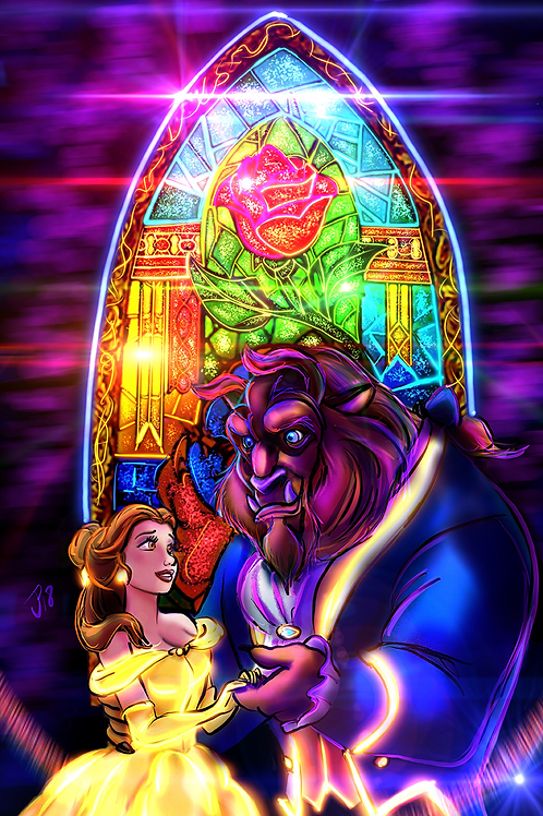 """Tale As Old As Time"" Art Print"