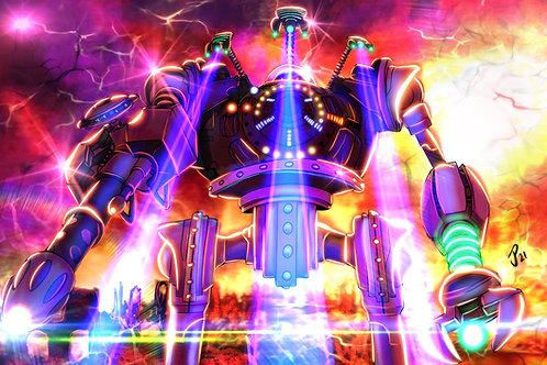 """Battle Mode Activated""  Art Print"