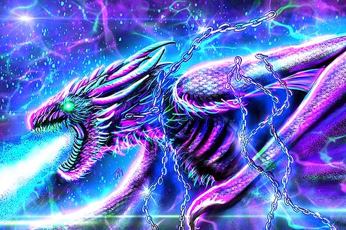 """Fire Can Not Kill A Dragon"" Art Print"