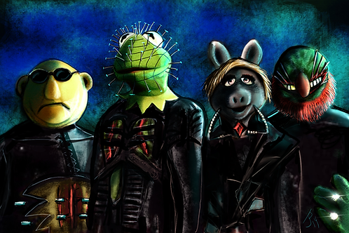 """""""Muppetraiser""""  Art Print"""