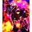 "Thumbnail: ""One Girl Versus The Galaxy"" Art Print"