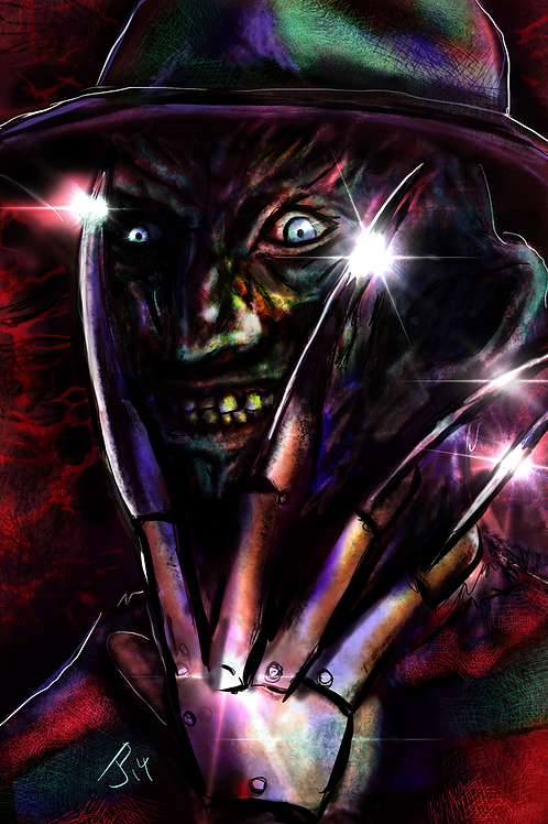 """One, Two, Freddy's...""  Art Print"