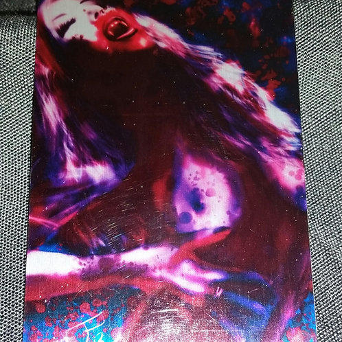 """Vampiress"" METAL collectible card #21"