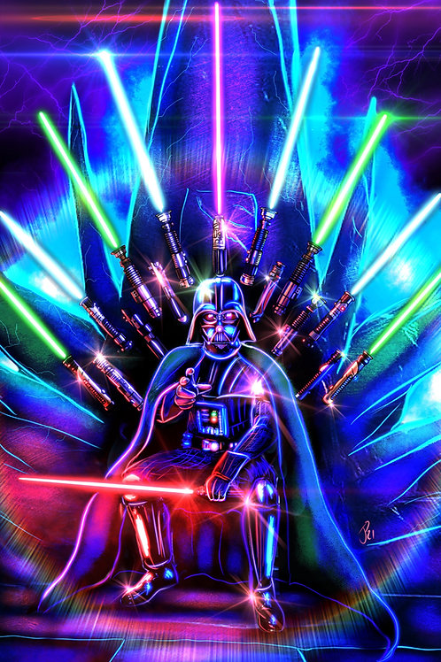 """""""The Game of Force""""  Art Print"""