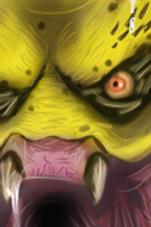 """""""Predator Drool"""" METAL Bookmark"""