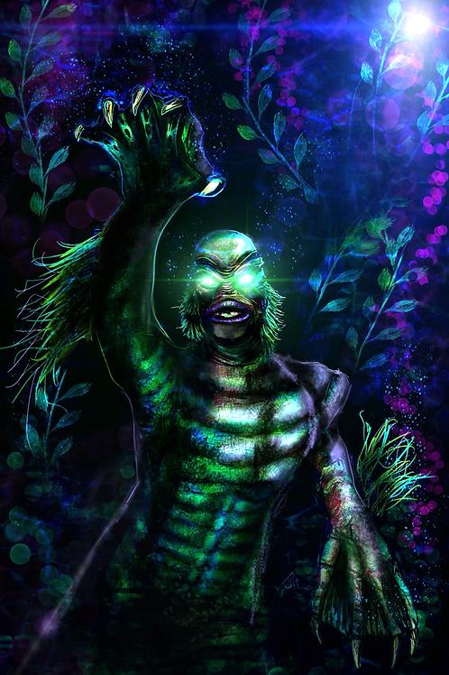 """The Creature"" Art Print"