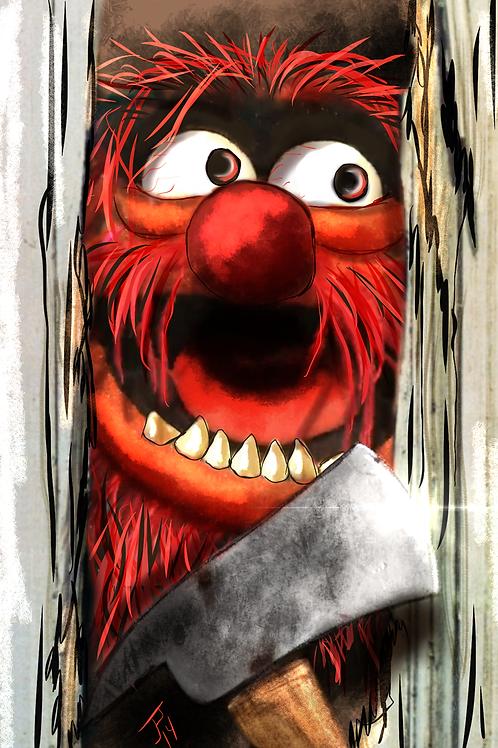 """Heeere's Animal!!!""  Art Print"