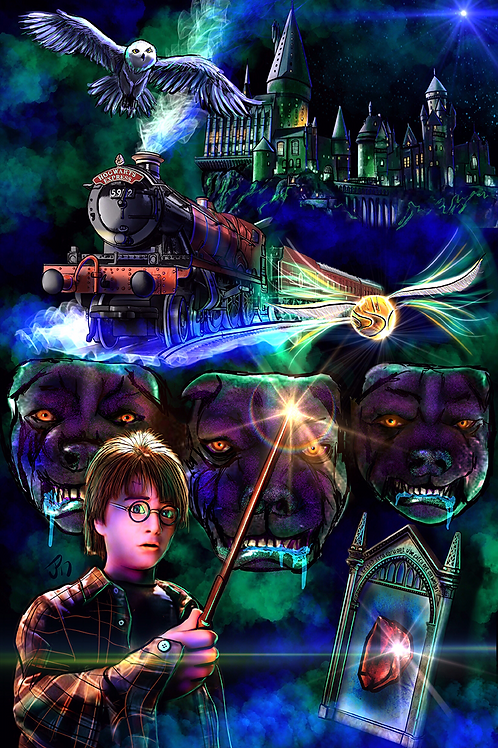 """You're A Wizard, Harry!"" Art Print"