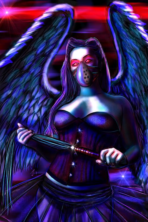 """Black Angel"" Art Print"