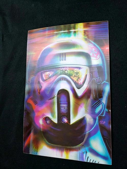 """Empire Helmets Series 2"" MUTATIONS Lenticular Print"