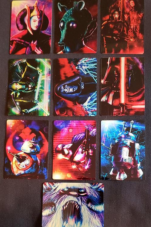 """The Metal Strikes Back"" METAL Card Set"