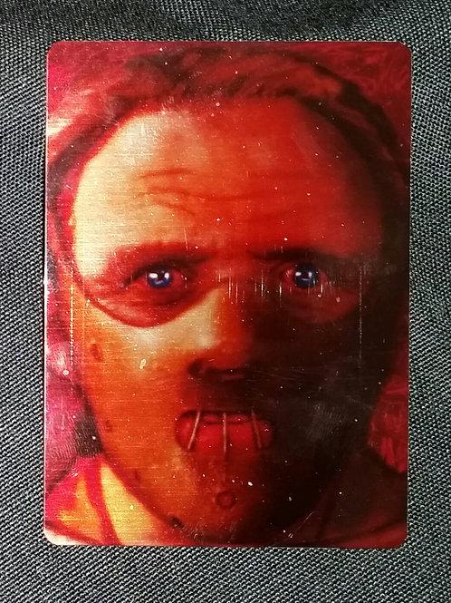 """Fava Beans"" METAL collectible card #14"