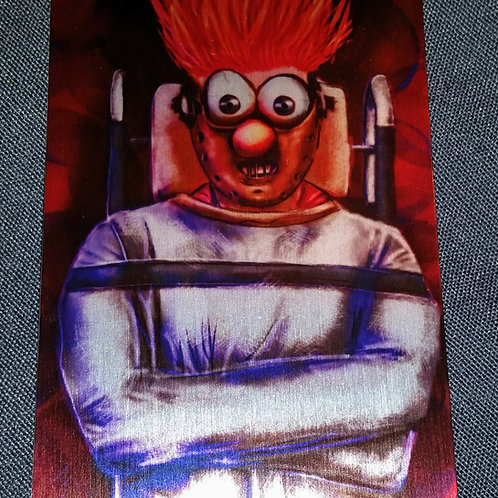 """""""Silence of the MEEPS"""" METAL collectible card #35"""