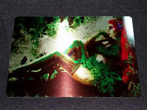 """""""Verdant Fantasy"""" METAL Collectible Card #66"""
