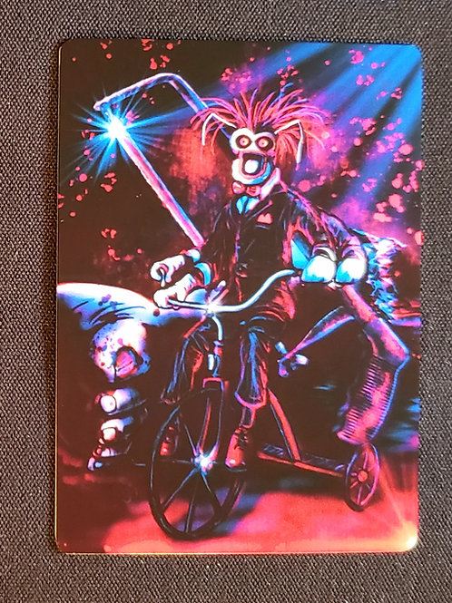 """""""Shall We Play Ze Game?"""" METAL Collectible Card #104"""