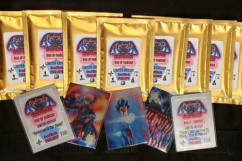 PescEffects: War Of Fandoms Trading Card Game Booster Packs