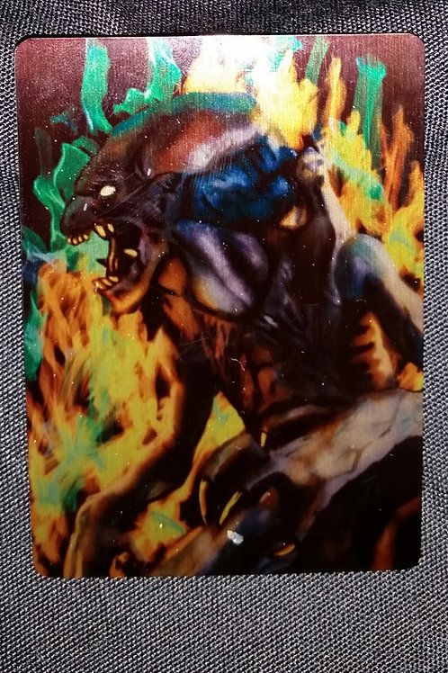 """""""Nothin' can ..."""" METAL collectible card #15"""