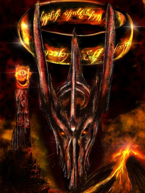 """""""Dark Lord""""  Art Print"""