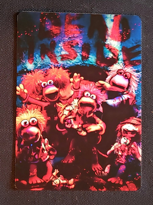 """Fraggle Rocking Dead"" METAL Collectible Card #99"