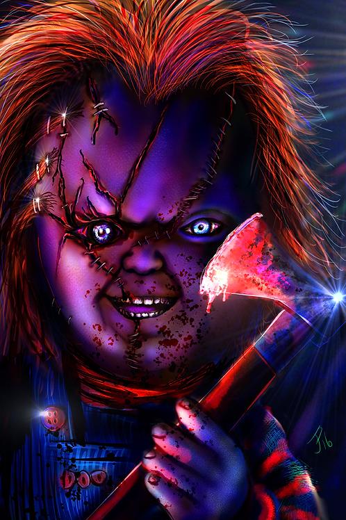 """Hi, I'm Chucky..."" Art Print"