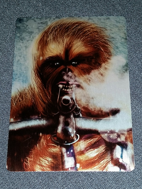 """""""Storm Wookie"""" METAL collectible card #48"""