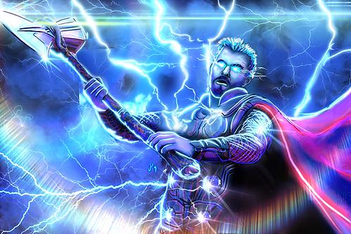 """Bring The Lightning"" Art Print"