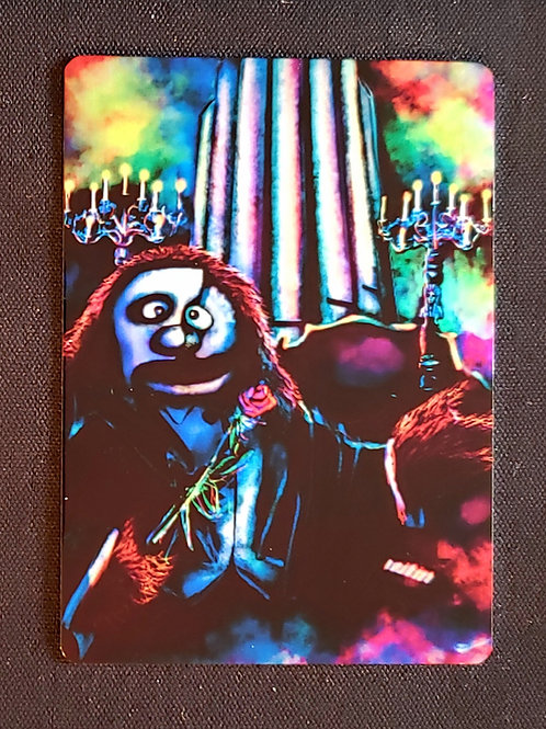 """The Howling Of The Night"" METAL Collectible Card #101"