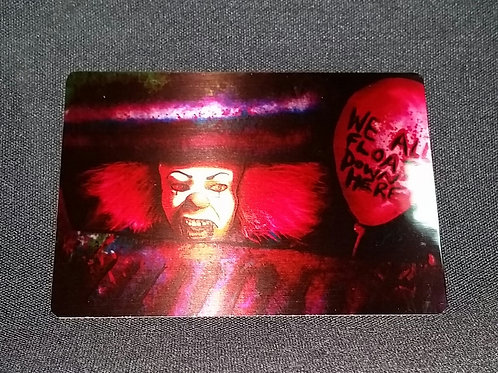 """""""We All Float"""" METAL Collectible Card #75"""