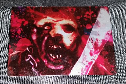 """Vorhees"" METAL collectible card #12"