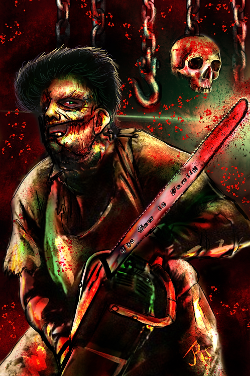 """""""The Saw is Family""""  Art Print"""
