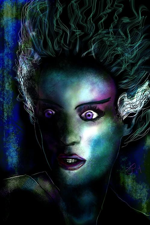 """""""Bride of The Monster"""" Art Print"""