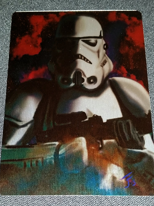 """For the Empire"" METAL collectible card #49"