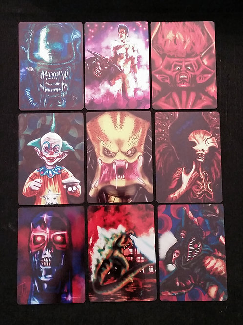 """Movie Monsters"" METAL Card Set"