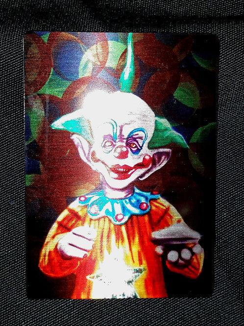 """""""Tiny"""" METAL collectible card #04"""