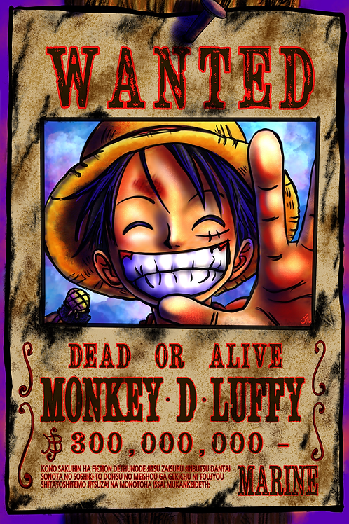 """WANTED"" Art Print"
