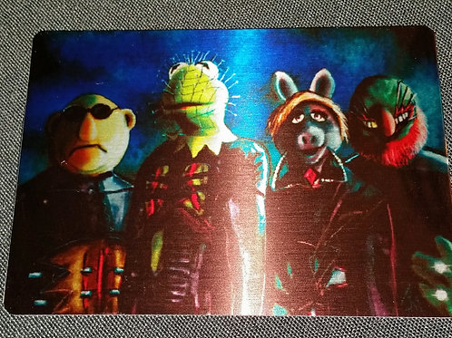 """Muppetraiser"" METAL collectible card #37"