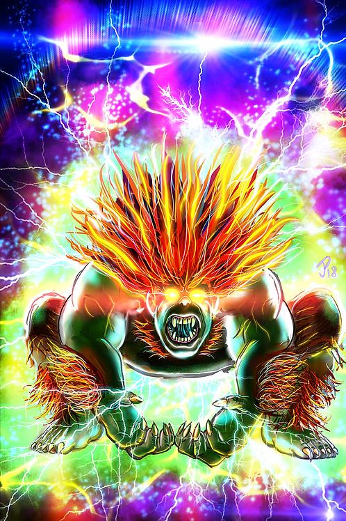 """Electric Thunder"" Art Print"