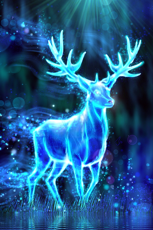 """Prongs Rode Again Last Night"" Art Print"