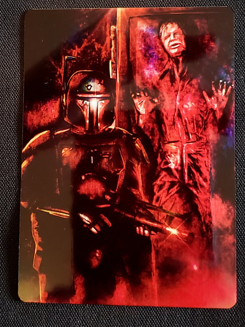 """The Bounty Hunters Prize"" METAL Collectible Card #89"