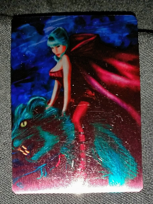 """Beast Rider"" METAL collectible card #22"