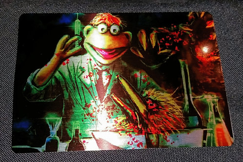 """""""Re-Animuppet"""" METAL collectible card #30"""