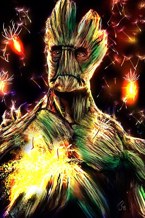 """Guardians Glow"" Art Print"