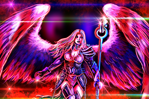 """Wings That Once Bore Hope..."" Art Print"