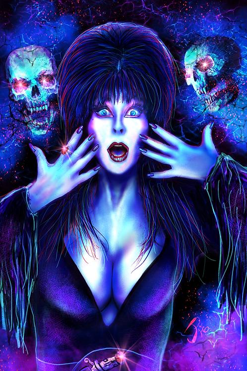 """A Spooky Pair"" Art Print"