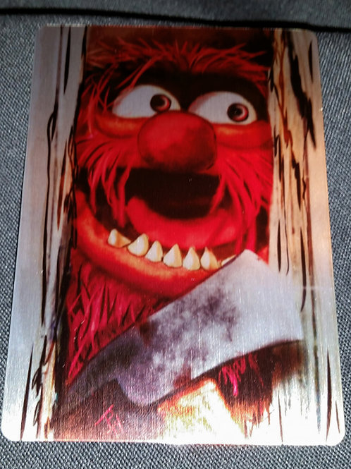 """Heeere's Animal!"" METAL collectible card #36"