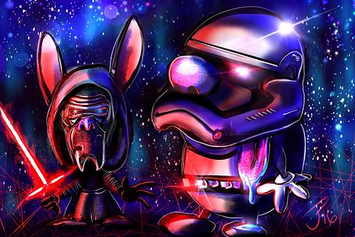 """SPACE MADNESS"" Art Print"